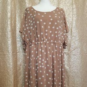 Torrid chiffon dress